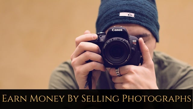 How to earn money with photography online